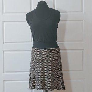 SAN FRANCISCO A-line Bohemian print skirt